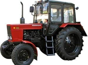 Технические характеристики трактора МТЗ-80